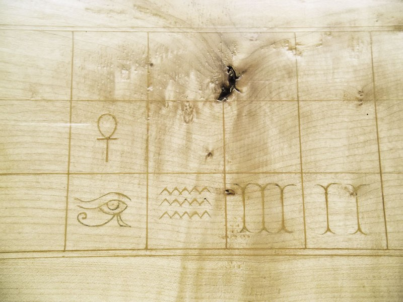 Ancient Egyptian game board