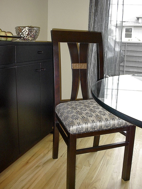 Asian-style cherrywood chair